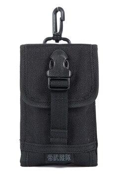 High Quality Men Hip Bum Fanny Waist Pack Bag Purse Camouflage Travel Riding 1000D Nylon Hook Cell/Mobile Phone Case Belt Bag фото