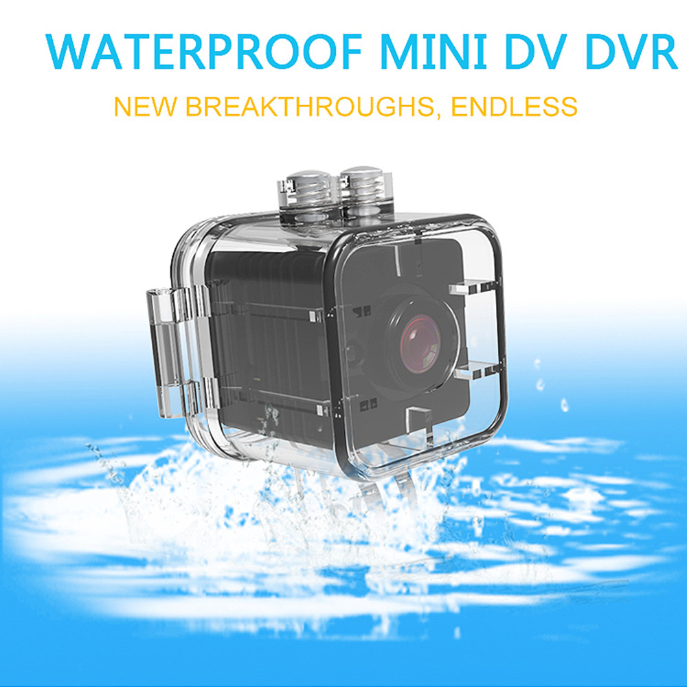 Waterproof SQ12 HD Sport Action Camera Night Vision Camcorder 1080P DV Video Recorder for Bicycle Motorcycle Ski Diving