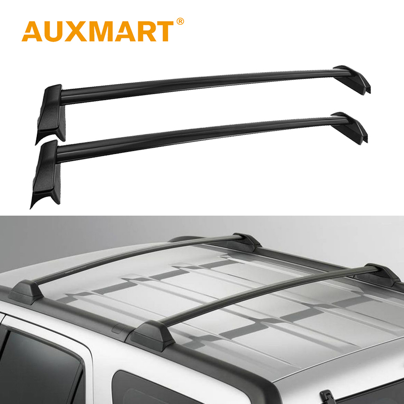Auxmart Roof Rack Cross Bar for Honda CRV 2002-2006 Car Roof Rails Racks Boxes Bar Load Cargo Luggage Carrier 132LBS/60kg электровелосипед cross rack 750