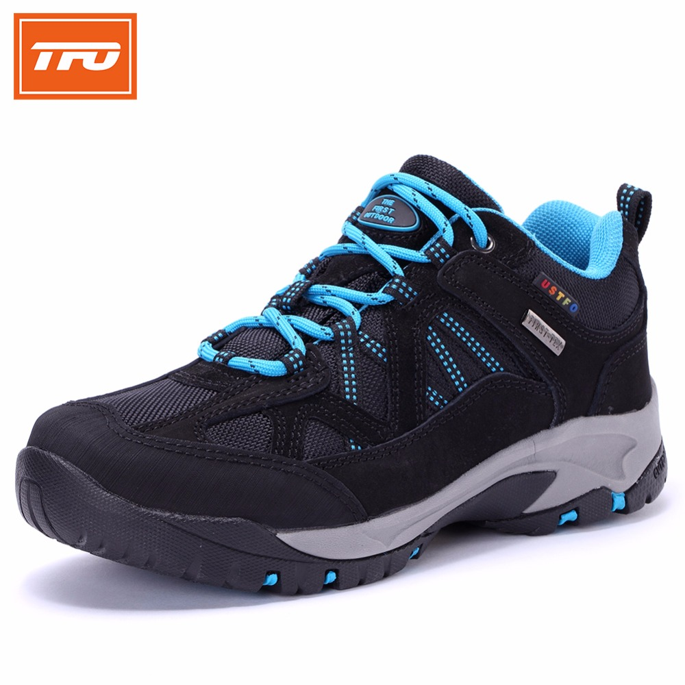 TFO Women Climbing Breathable Trekking Hiking Shoes Woman Outdoor Athletic Waterproof Mountain Sports Sneakers 844543