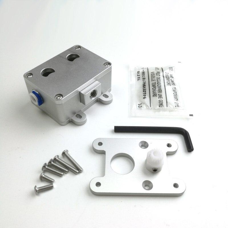 3D printer upgraded extruder kit dual wheel deceleration POM gear Reducer for Ultimaker 2+ extrusion  for 3mm filament|3d printer upgrade|dual extruder upgrade kit|dual extruder upgrade - title=