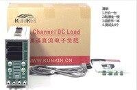 KUNKIN KL293 2 channel DC electronic load instrument LED drive power load meter battery load test