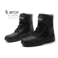 ARCX Motorcycle Leather boots Road Riding Men's leisure warm waterproof wear resistant shoes motocross Touring boats