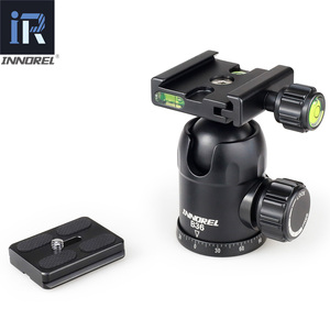Image 5 - RT50 Professional ถ่ายภาพ Travel อลูมิเนียมขาตั้งกล้อง Monopod tripe Panoramic BALL HEAD สำหรับกล้อง DSLR ดีกว่า Q666