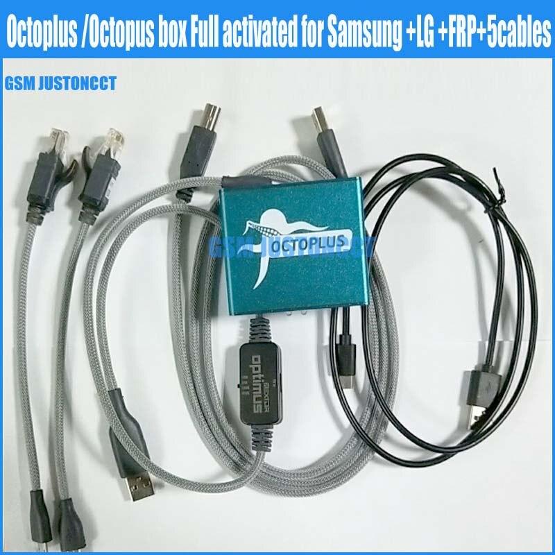 2018 новейший octoplus/octopus frp box для samsung для lg активированный +  5 кабелей (включая кабель