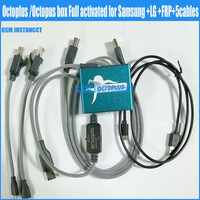2018 the newest octoplus /octopus frp box For samsung for lg activated+5 cables (including Optimus  cable )