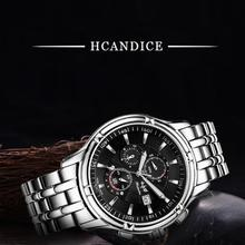 Hcandice Dignity 2017 Men's Fashion Watch Stainless Steel Band Wristwatches Analog Quartz Watch montre Drop shipping Mar30
