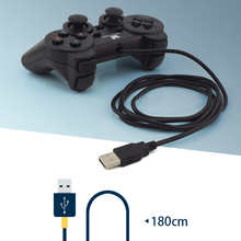 Data Frog Wired Game Controller Gaming Joypad Joystick USB Gamepad For PC Laptop Vibration Gamepads For Window 7&10
