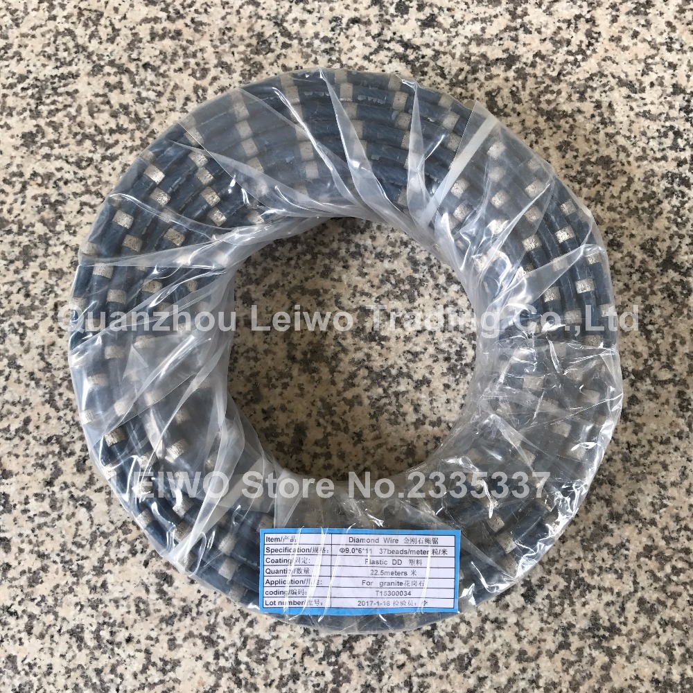 Diamond Wire Saw for Granite Profiling and Squaring 9.0 mm Inner ...