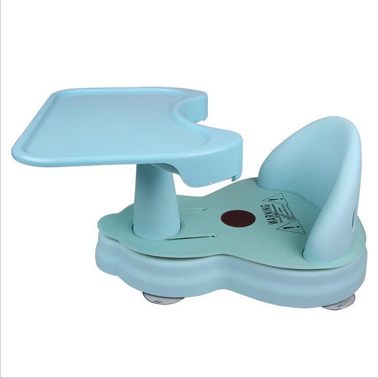 Détachable bébé chaise de bain réglable lavage fournitures de bain alimentation siège de sécurité anti-dérapant siège enfants enfants avec coussin doux
