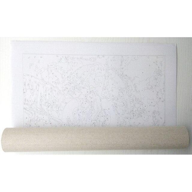 Фото chenistory рамка diy живопись по номерам закат пейзаж каллиграфия