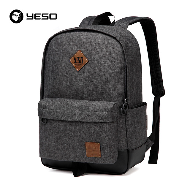 d1a961bbf4 YESO Brand School Backpack Women 2019 Cacual Student College Backpack Bags  For Sxhool Waterproof Oxford Men's Backpack Mochilas