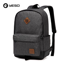 YESO Brand School Backpack Women 2019 Cacual Student College Backpack Bags For Sxhool Waterproof Oxford Men's Backpack Mochilas(China)
