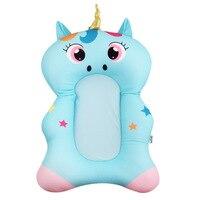 Baby Shower Portable Air Cushion Bed Babies Infant Baby Bath Pad Non Slip Bathtub Baby Bath Tub Newborn Foldable