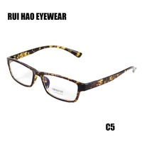 Fashion Eyeglasses Men Eyewear Women Leopard Glasses Frame Anti Radiation Computer Goggles Clear Reading Spectacles Outdoor