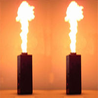 (Ship from EU) 2PC 200W DMX Fire Spray Effect Flame Thrower DJ Stage Projector Machine Party