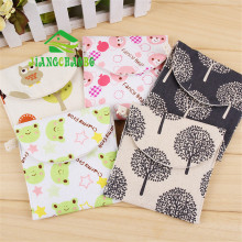 Free Shipping Cute Cotton Flowers Sanitary Bags Towel Storage Portable Napkin F1863