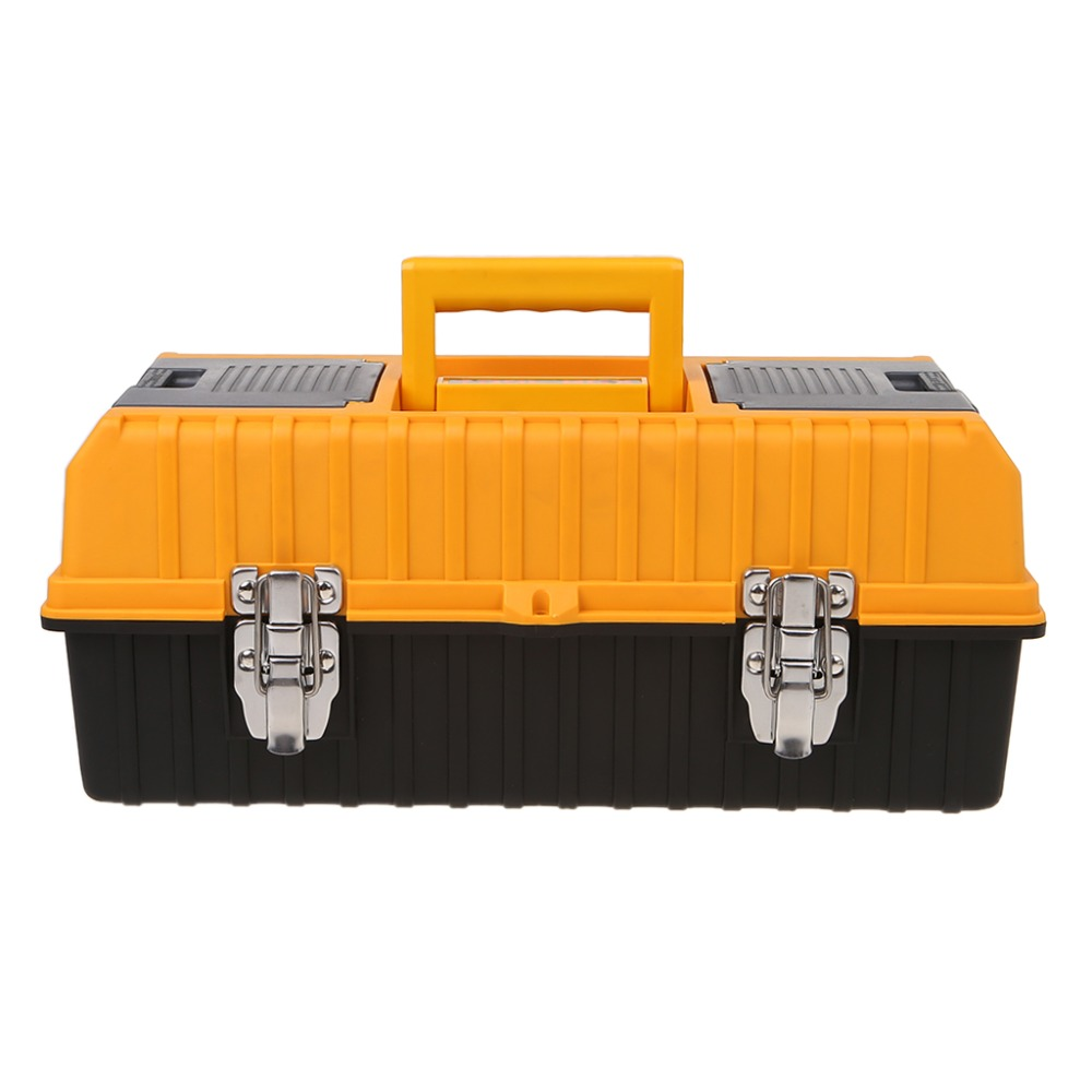 2019 New Portable 17 Large Plastic Tool Box 3 Layer Storage Hardware box Multifunction Container Case DIY