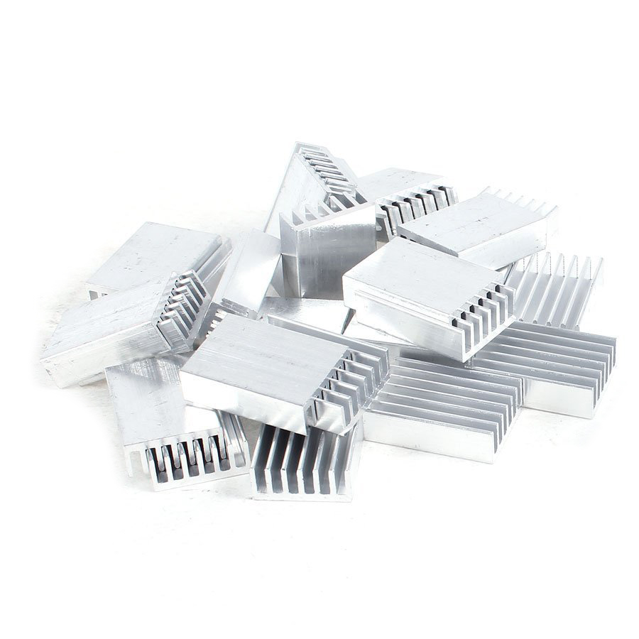 PROMOTION! Hot Sale 30 Pcs Aluminum Heatsink Cooling Fin 20mmx14mmx6mm for Mosfet IC 5pcs lot pure copper broken groove memory mos radiator fin raspberry pi chip notebook radiator 14 14 4 0mm copper heatsink