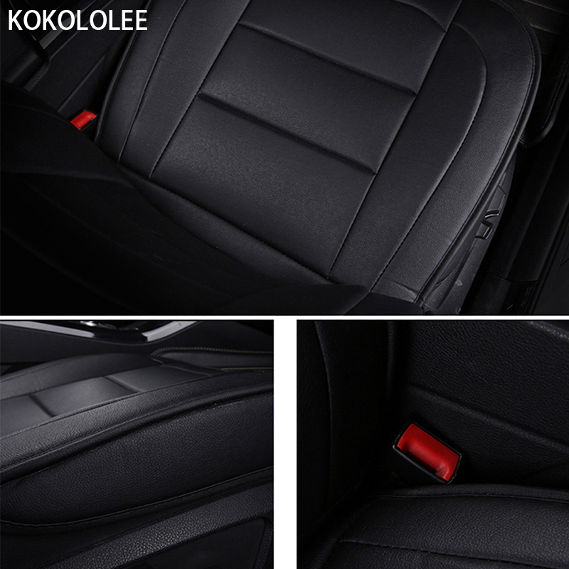 [KOKOLOLEE] pu leather Car seat Covers for KIA All Models Rio K2/3/4 Cerato Sportage cars cushion auto accessories car styling - 3