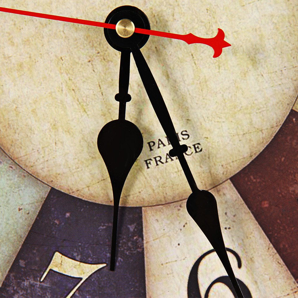 Aliexpresscom Buy Antique Vintage Round Wood Wall Clock