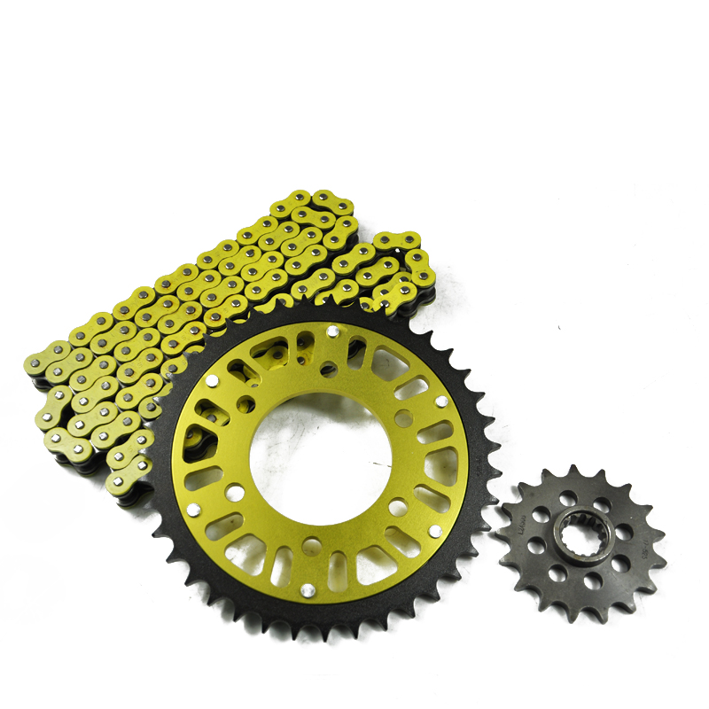 цена на Motorcycle 525 O-ring Chain Set Front & Rear Sprocket For kawasaki ZX6R ZX 6R ZX 6 R 600 1998 1999 2000 2001 2002 98 99 00 01