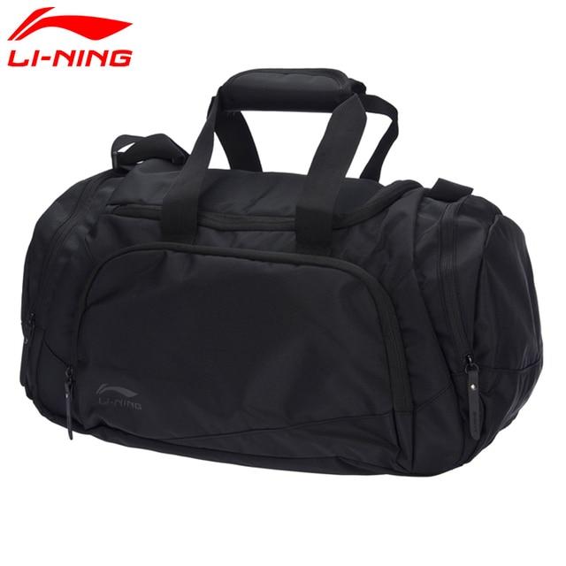 e05bfb0f1fcd34 Li-Ning Unisex Training Duffel Polyester Classic Leisure Adjustable  Shoulder Strap LiNing Sports Bag ABLM028 BJF113
