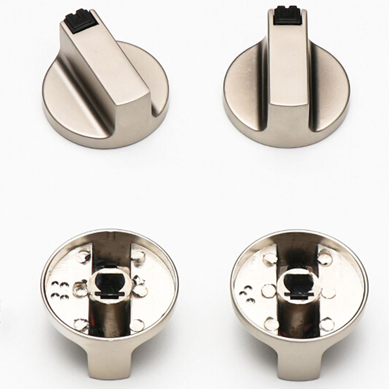 Wb03T10325 Range Chrome Burner Control Knob for Ge Cooktop Knobs Replacements Fit AP5690210 PS3510510