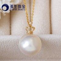 [YS] 14 15 мм редко морской Радуга Цвет Akoya Mabe жемчужный кулон Цепочки и ожерелья для Для женщин