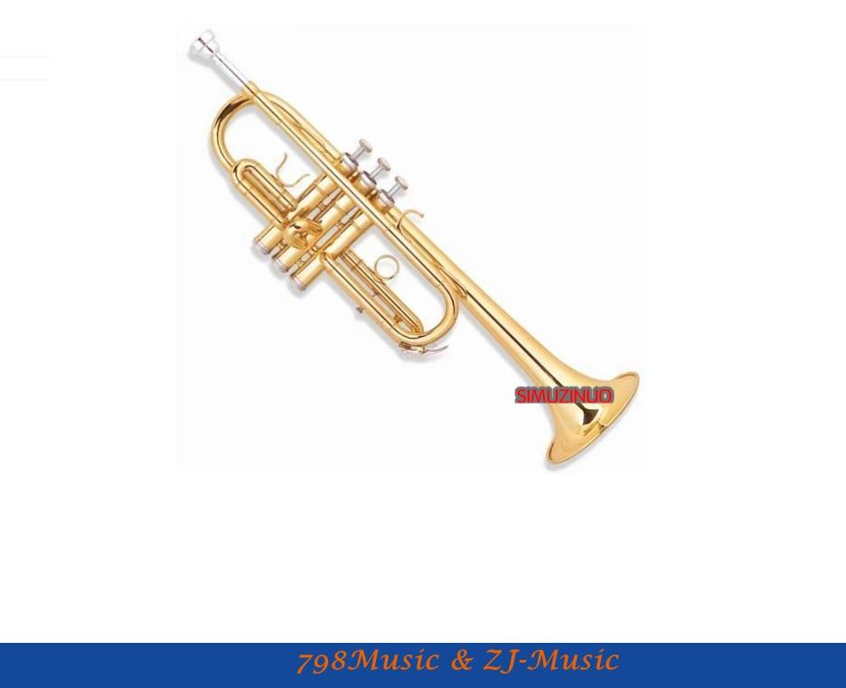 C 키 트럼펫 전문 모델 케이스 - 보어 크기 11.65 mm - 벨 DIA.123 mm