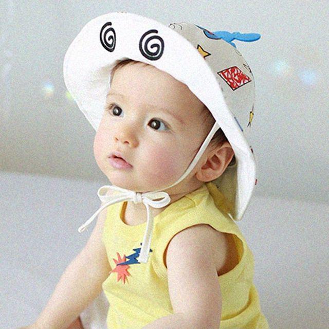b37dd6db2c13 Godier Toddler Girls Sun Hat Accessories Baby Cartoon Summer Cotton Bucket  Hat Child Sun Hat Girls Brim Beach Hat With Wide Brim