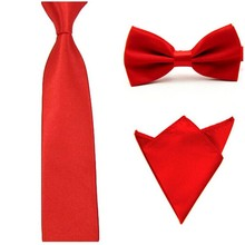16 Colors  Men Tie Bowtie Pocket Adjustable Plain Wedding Bow Tie For Evening Party solid color Neckties butterflies GB1712171