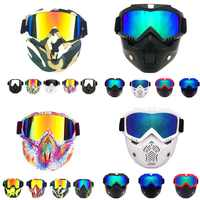 New Style Tactical Mask Harley Goggle Glasses for Nerf Toy Gun Game Nerf Rival Ball Outdoor CS Masks Nerf Kid Gift