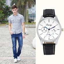 Chaxigo Male Clock Quartz Watch Quartz-watch Relogio Masculino Wrist Watch Men Watches 2017 Top Brand Luxury Famous Wristwatch