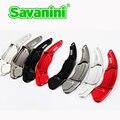 Savaini Nova 2 pcs Alumínio Mudança Volante Paddle Extensão Shifter Para Ford Mondeo Borda Explorer Taurus e Lincoln MKZ