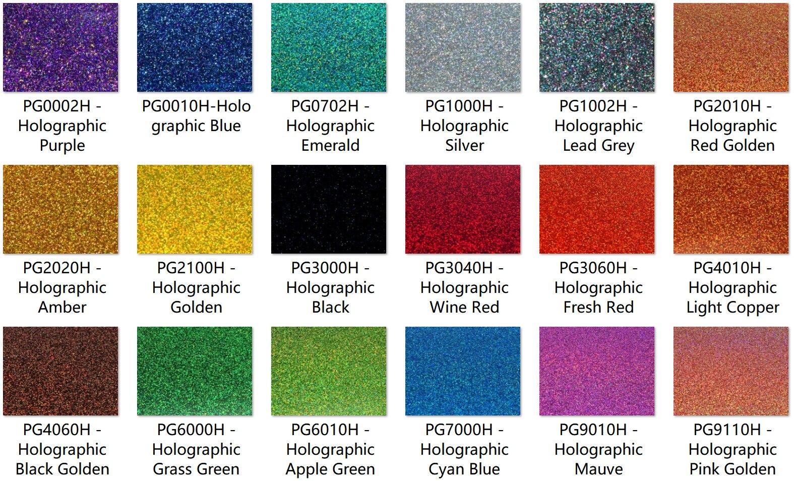 Ev ve Bahçe'ten Plaklar ve Işaretleri'de 300mm x 200mm x 3.0mm (L x G x T), çok Renkler Akrilik (PMMA) İki Taraflı Holografik Pırıltılı Levhalar 12 adet/grup'da  Grup 1