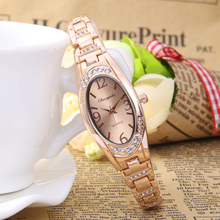 2016 Nouvelles Femmes de Montre de luxe De Mode de femmes bracelet montres à quartz Dame relojes mujer Fille poignet montres pour femmes Robe horloge