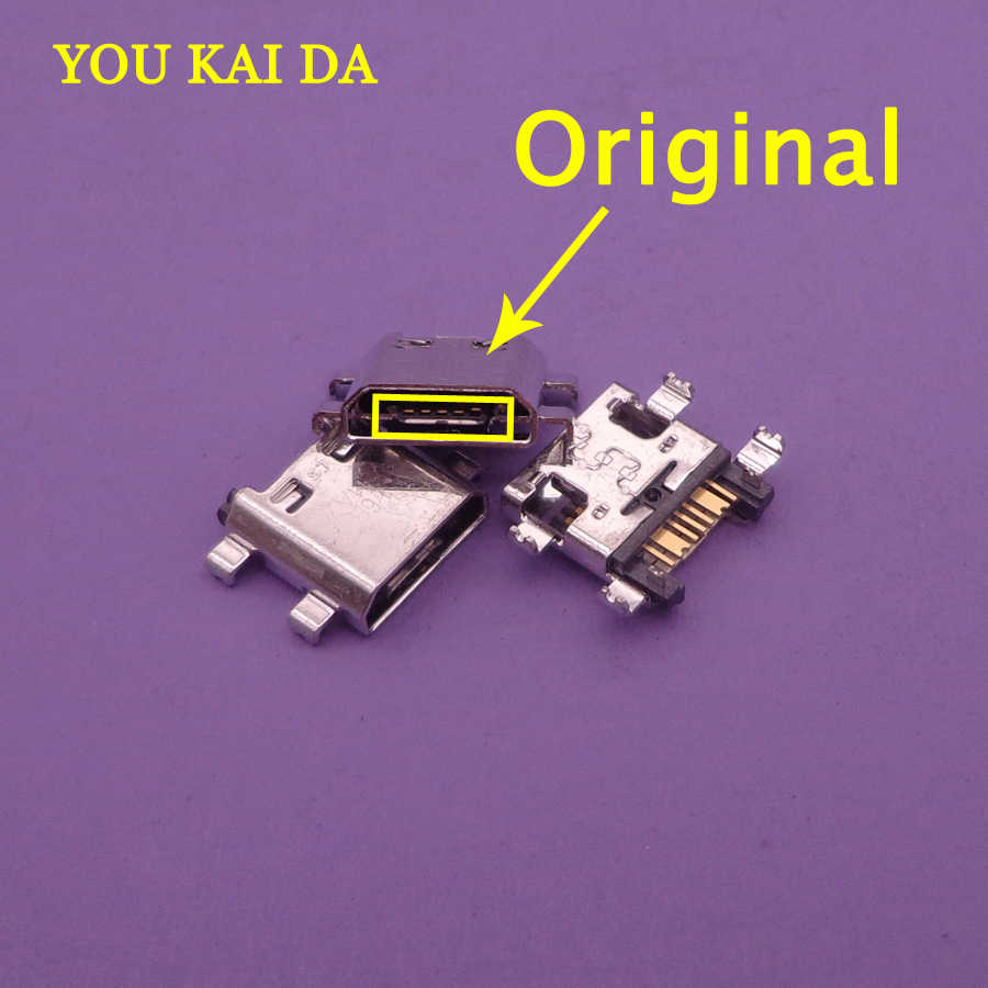 100pcs/lot New Charger Micro USB Charging Port Dock Connector Socket For Samsung J5 Prime On5 G5700 J7 Prime On7 G6100 G530 G532