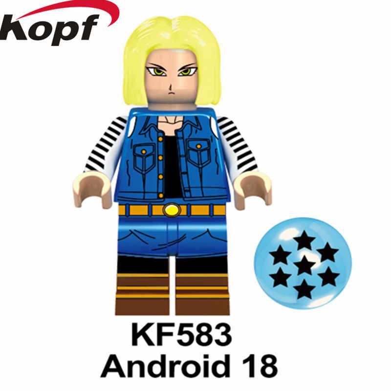 シングル販売スーパーヒーロー Ephnesians トランクスドラゴンボールシリーズ孫悟空フィギュアビルディングブロック子供のおもちゃのため KF6048