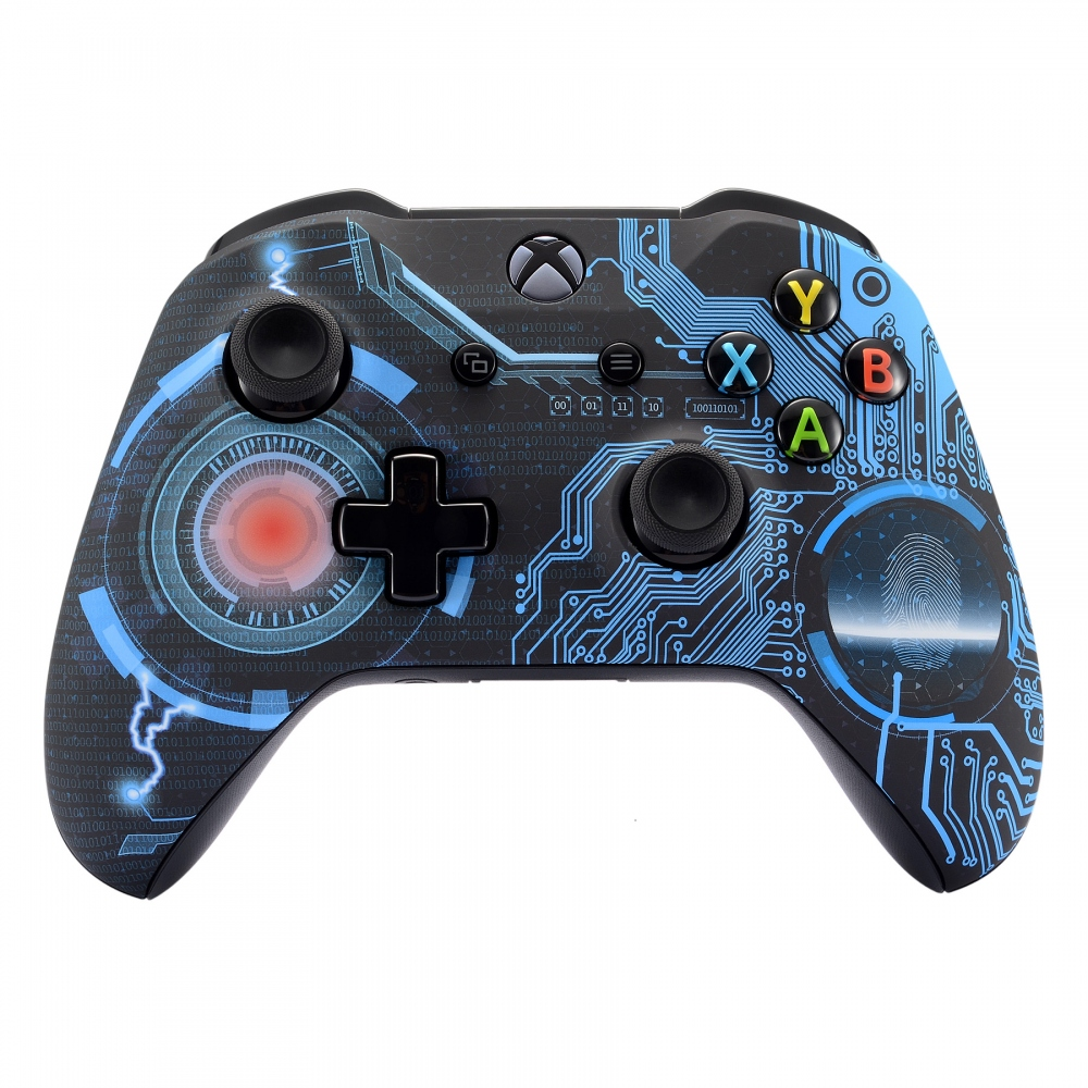 Circuito Soft Touch reemplazar partes frontal Shell para Xbox One X y uno S controlador