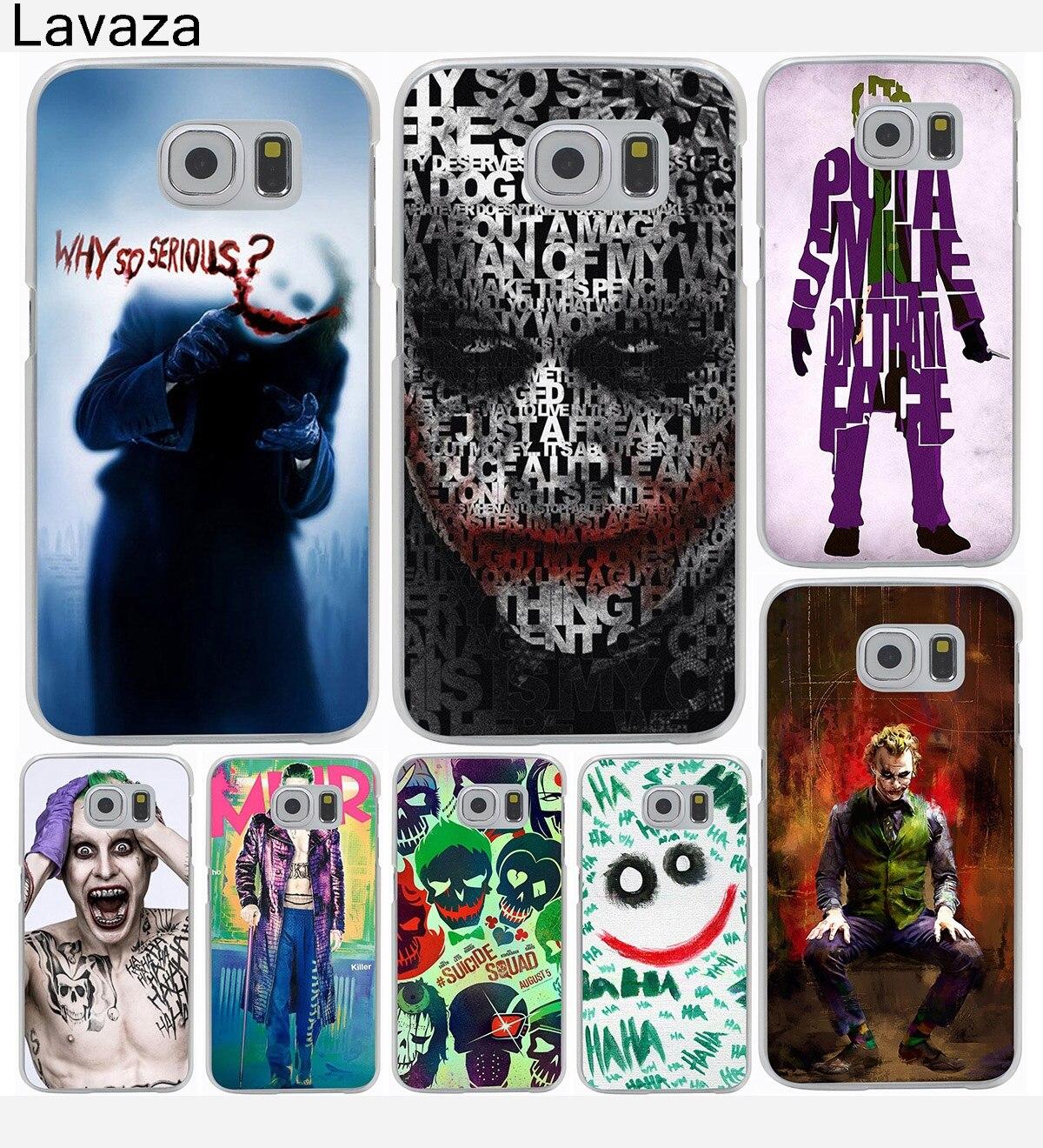 Joker Harley Quinn Hard Cover Case for Galaxy S3 S4 S5 & Mini S6 S7 S8 Edge Plus