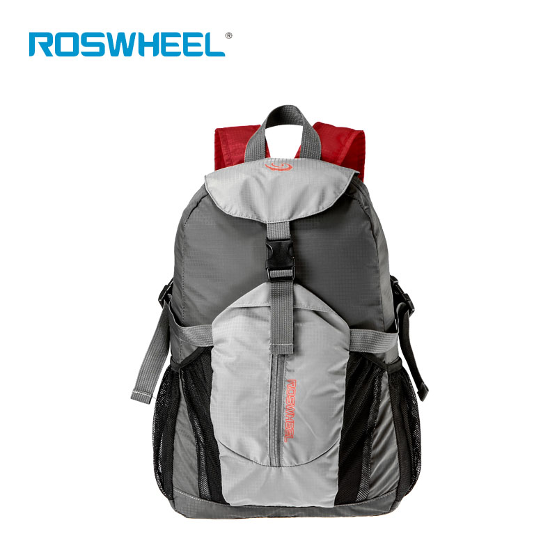 ROSWHEEL Cycling Backpack Basketball Bags Adjustable Shoulder Strap Pouch Outdoor Sports Handbag Folding Bike Bags Mochila