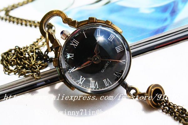 2014 Top Fasion New Stainless Steel Glass Acrylic Dhl Free Shipping Ball Hanging Pocket Watch 1pcs/lot Chain Can Be Mixed Design