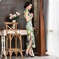 2016 Traditional Chinese Clothing Elegant Ladies Sexy Cheongsam Qipao Long Abendkleider Women Chinese Style Evening Cheongsam