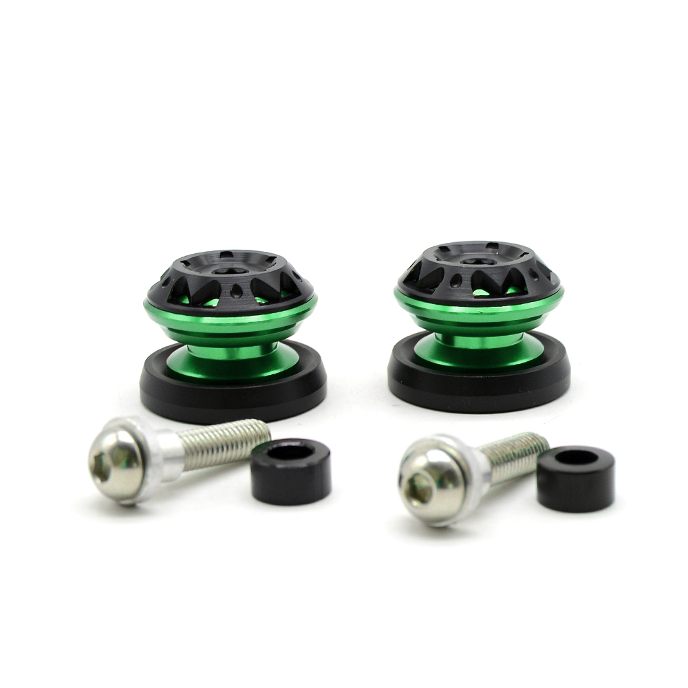for honda CBR954RR NC700 NC750 S X PCX125 CBR900RR 2pcs Motorcycle Stand Screws CNC Swingarm Swing Sliders Spools in Covers Ornamental Mouldings from Automobiles Motorcycles