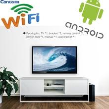 Envío Shipping32inches Smart TV Multi-Interfaz de Monitor de Wifi andriod 4.4 Estrecho de educación En Línea Simple OperationWiFi conectar