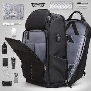 Image 3 - Mark Ryden hombres mochila multifunción USB de carga de 17 pulgadas portátil bolso de gran capacidad impermeable bolsas de viaje para los hombres