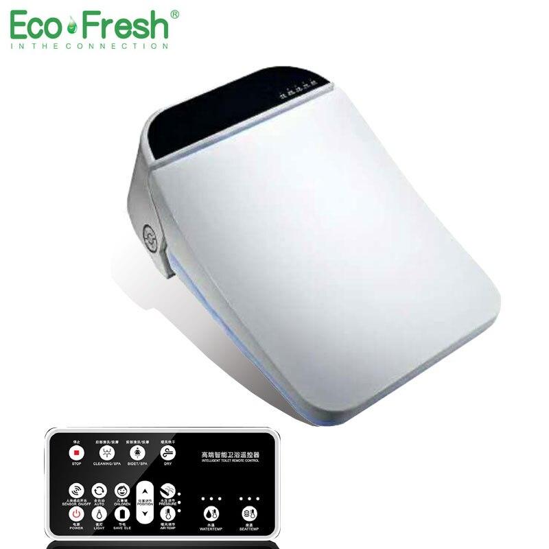 Ecofresh квадратный смарт-сиденье для унитаза washlet Электрический крышка биде интеллектуальные биде тепла clean drying Массаж Уход