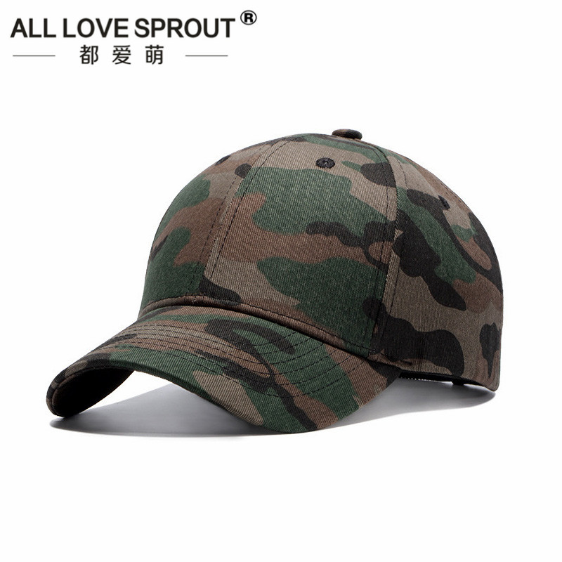 2018  cotton camouflage baseball cap fashion Korean version of the tide male and female models hat tongue bone wholesale 2017 of the latest fashion have a lovely the hat of the ear lovely naughty lady s hat women s warm and beautiful style