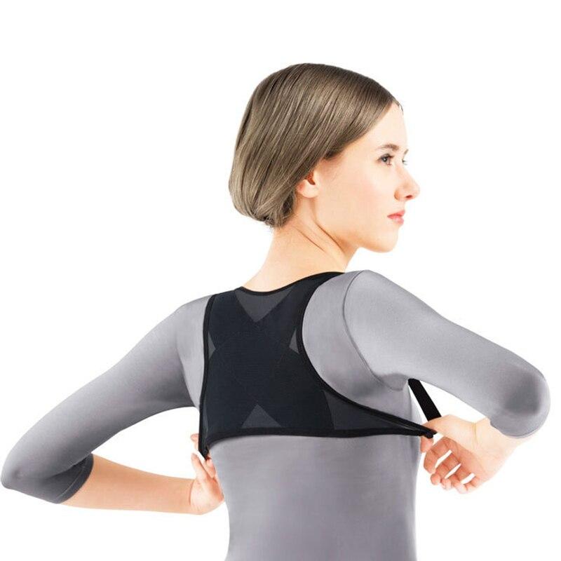 Back Posture Corrector for Women Shoulder Support Breathable Vest Adjustable Brace Belt Dropshipping